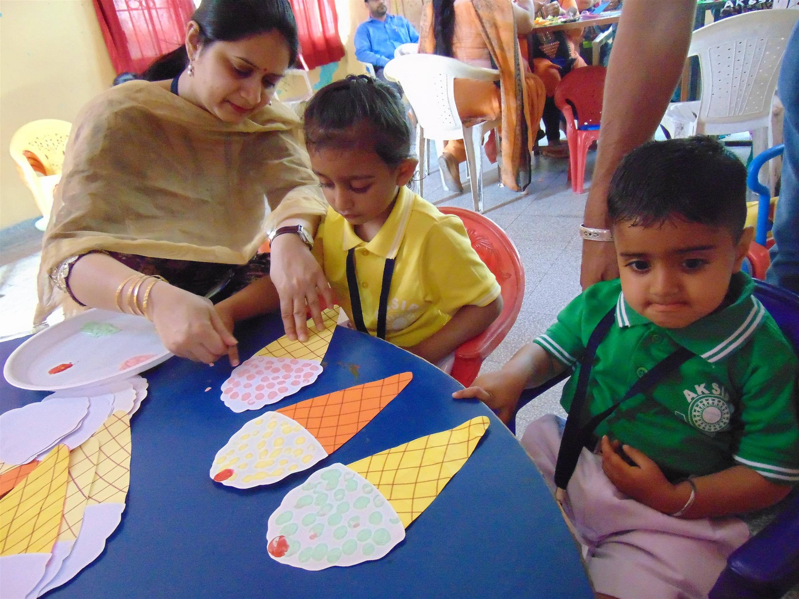 Day -2 (Pre-Nursery) | AKSIPS SECTOR-45 CHANDIGARH