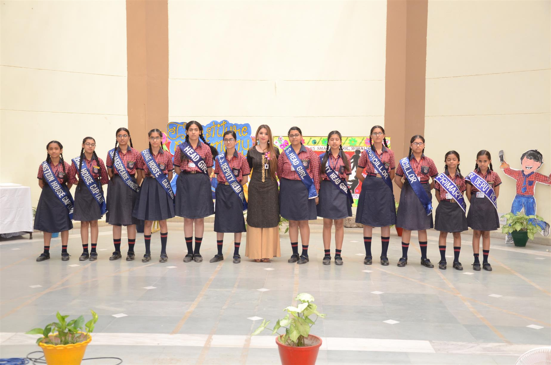 INVESTITURE CEREMONY | AKSIPS 65 Chandigarh