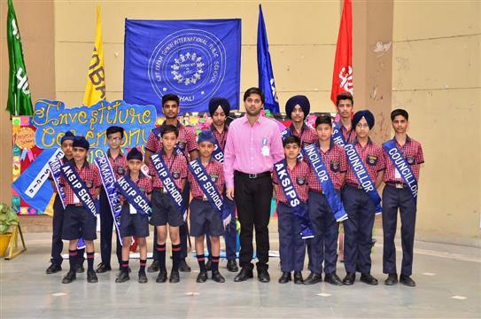Investiture ceremony | AKSIPS 65 Chandigarh