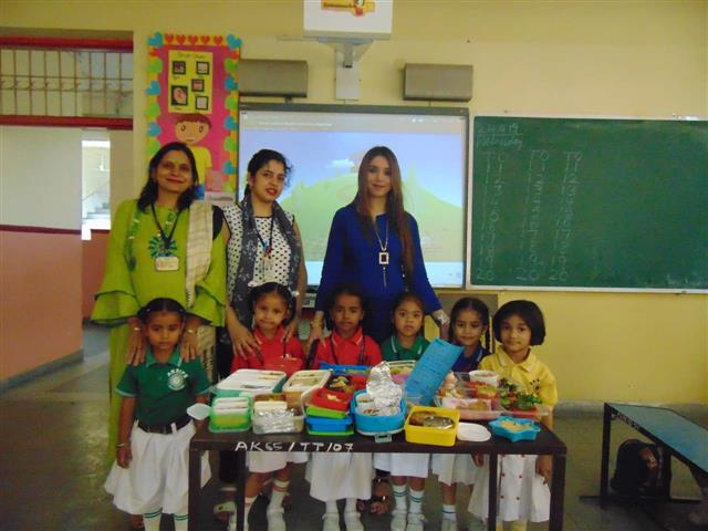 Healthy Tiffin Competition- Nursery | AKSIPS SECTOR-45 CHANDIGARH
