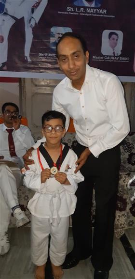 Open Taekwondo championship held at BMD School | AKSIPS 65 Chandigarh