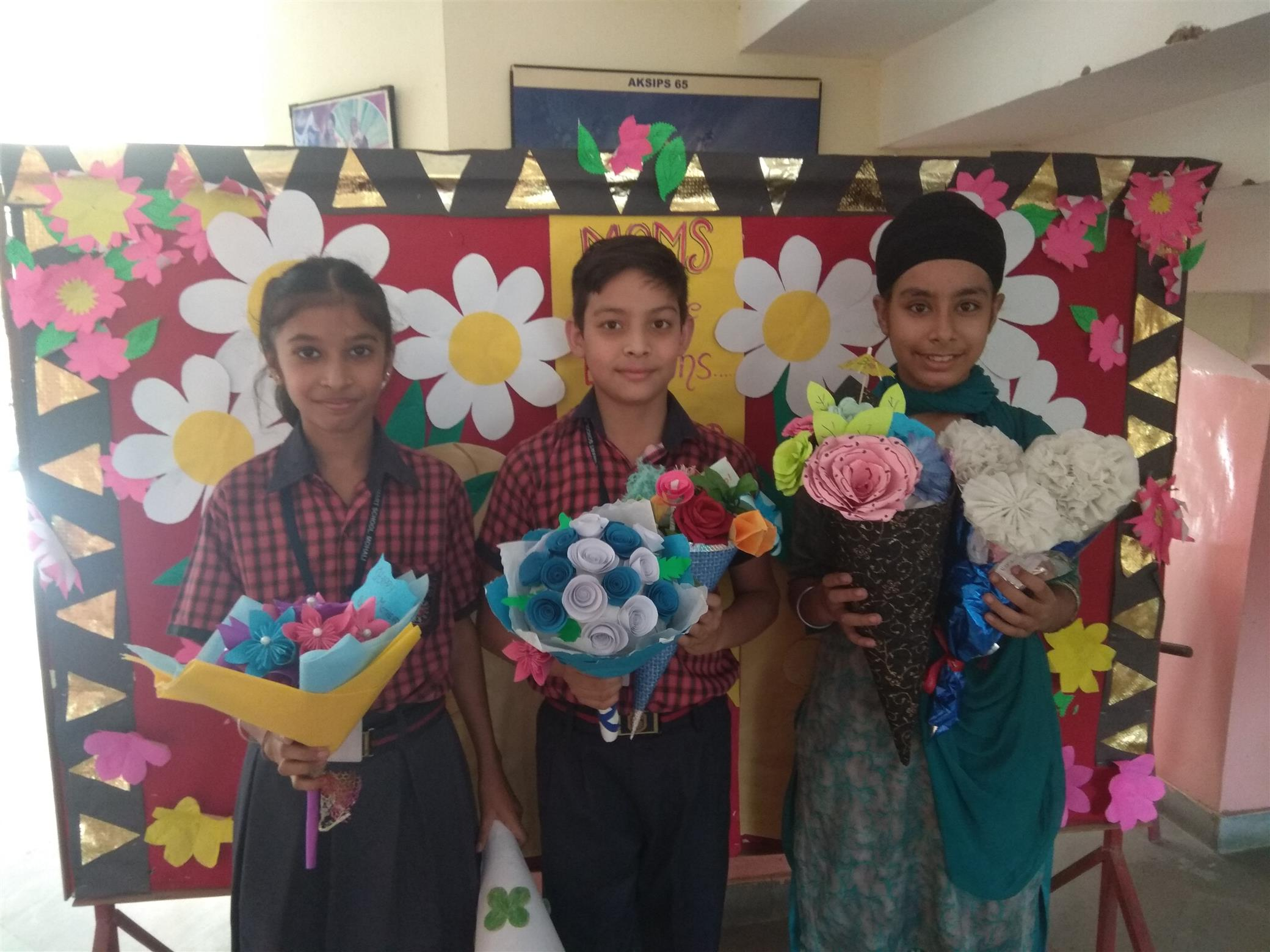 Mothers day activities | AKSIPS 65 Chandigarh
