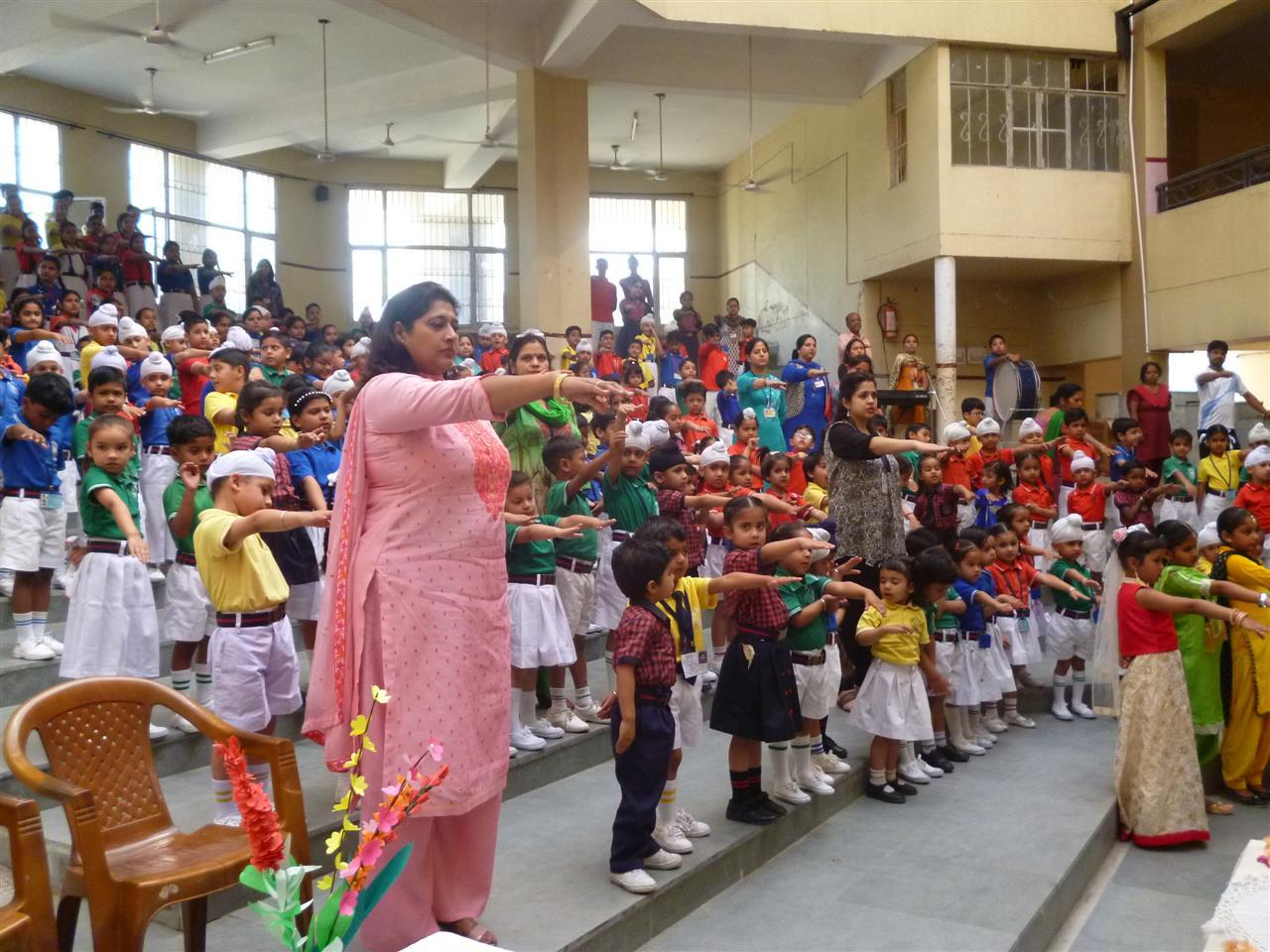 AKSIPS-65 CELEBRATES WORLD HERITAGE DAY | AKSIPS 65 Chandigarh