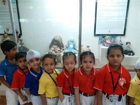 AKSIPS 65 organised an educational trip to Doll Museum | AKSIPS 65 Chandigarh