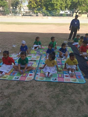 Yoga time- Pre-primary | AKSIPS SECTOR-45 CHANDIGARH